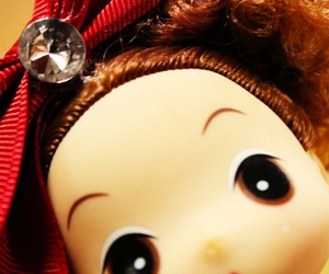 curly, doll, and eyes image