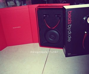beats, black, and dr. dre image