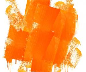 orange, color, and paint image