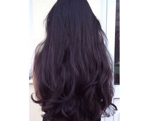 longhair, blackhair, and hair image