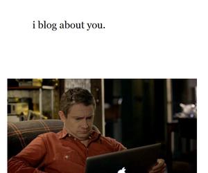 bbc, blog, and Martin Freeman image