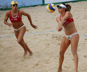 volleyball and beach volley image