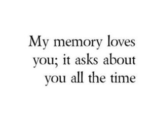 love, memories, and quotes image
