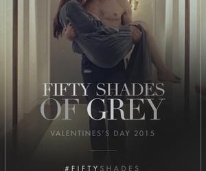 christian grey, fifty shades of grey, and anastasia steele image