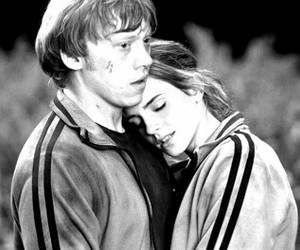 couple, ron weasley, and rupert grint image