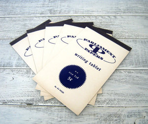 navy blue, notebooks, and notepads image