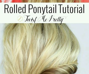 Easy, pony, and rolled image