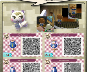 qr code, new leaf, and acnl image