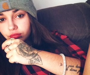 girl, hip-hop, and ink image