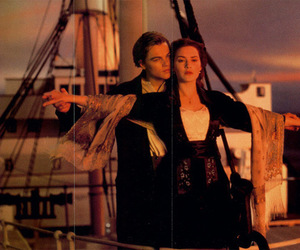Flying, jack, and kate winslet image