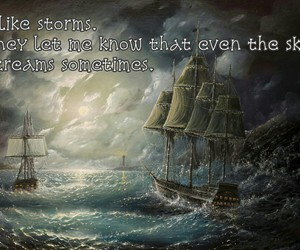 qoutes, see, and storm image