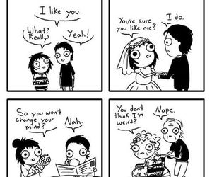 draw, sarah andersen, and funny image