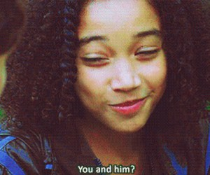 rue, the hunger games, and katniss everdeen image