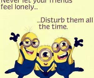 friends, minions, and friendship image