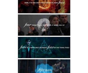 fear, harry potter, and hp image