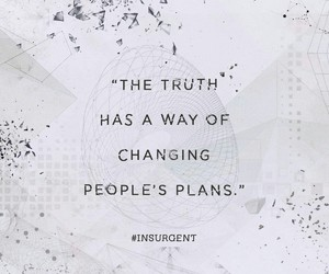 insurgent, truth, and divergent image