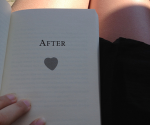 book, heart, and john green image