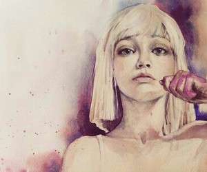 ️sia, chandelier, and drawing image