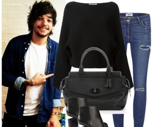 louis tomlinson, one direction imagine, and one direction preferences image