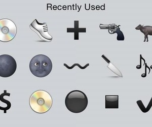 grunge, emoji, and dark image