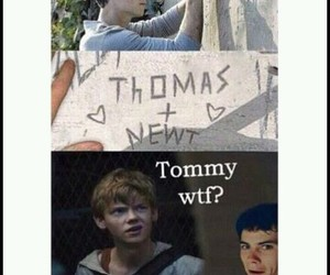 lol, newt, and thomas image
