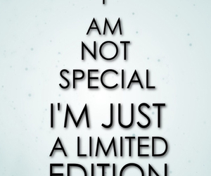 special, quotes, and limited image