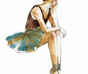 ballerina, cute shoes, and dancer image