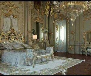 bedroom, princess, and room image