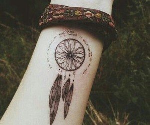 tattoo, hipster, and vintage image