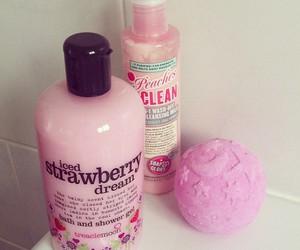 pink and bath image