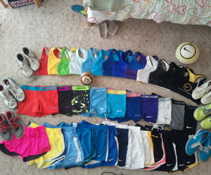 sport, nike, and fitness image