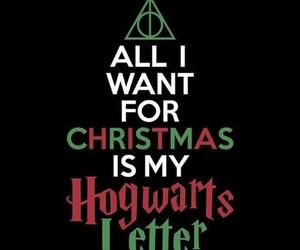christmas, hogwarts, and harry potter image