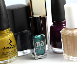 beauty, nail, and beige image