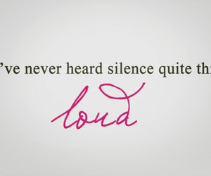 Taylor Swift, quote, and silence image