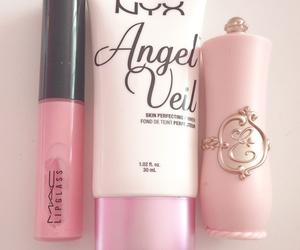 pink, mac, and makeup image