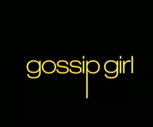 gossip and gossip girl image