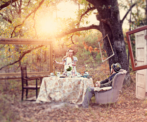 photography and alice in wonderland image