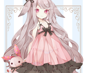 anime, lolita, and bunny image