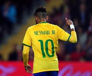 neymar, 10, and brasil image