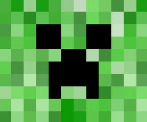 creeper and minecraft image
