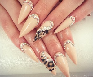 nail art, nails, and nail polish image