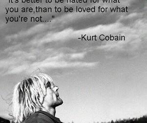 kurt cobain, quotes, and nirvana image