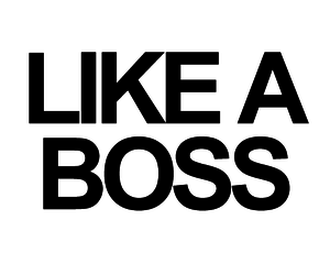 boss, bitch, and like a boss image