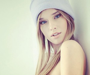 beauty, blonde, and girl image