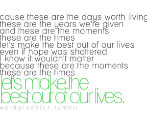 Best Days, hope, and life image