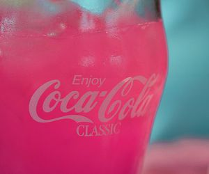 classic, coke, and pink image