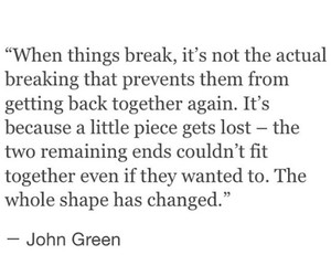 broken, hurt, and sad image