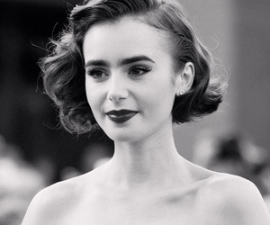 lily collins, premiere, and love rosie image