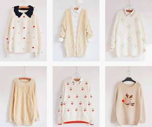 fashion, sweater, and cute image