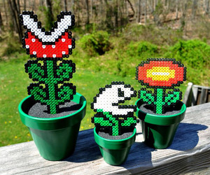 game, mario, and plants image